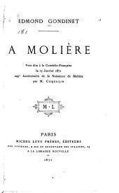 À Molière: vers