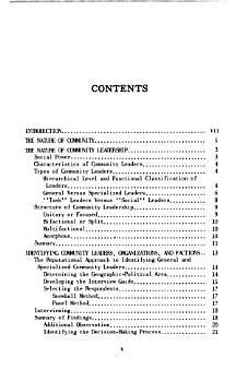Environmental Health Service Series on Community Organization Techniques PDF