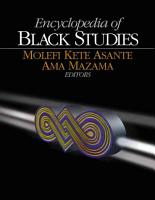 Encyclopedia of Black Studies PDF