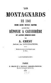 Les Montagnards de 1848