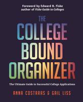 The College Bound Organizer PDF