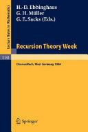 Download Recursion Theory Week Book