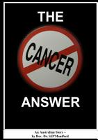 The Cancer Answer PDF
