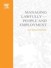 Managing Lawfully - People and Employment: Edition 4