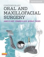Contemporary Oral and Maxillofacial Surgery   E Book PDF