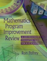 The Mathematics Program Improvement Review PDF