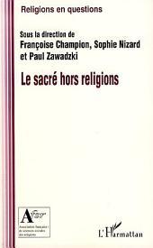 Le sacré hors religion