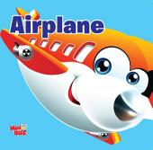 Airplane : Cutout Board Book