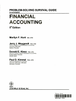Problem Solving Survival Guide to accompany Financial Accounting with Annual Report PDF