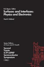 Surfaces and Interfaces  Physics and Electronics PDF