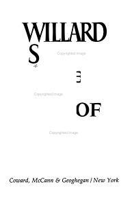 Willard Scott's The Joy of Living