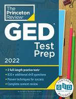 Princeton Review GED Test Prep, 2022