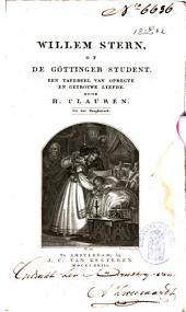 Willem Stern, of De Göttinger student: een tafereel van opregte en getrouwe liefde