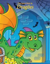 Livro para Colorir de Dragões 1