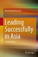 Leading Successfully in Asia PDF