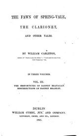 The Fawn of Spring-Vale, The Clarionet, and Other Tales: Volume 3