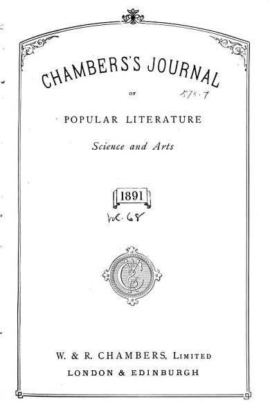 Download Chambers s Journal of Popular Literature  Science and Arts Book