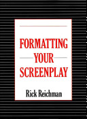 Formatting Your Screenplay Book
