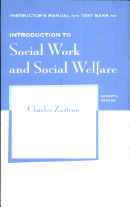 Introduction to Social Work and Social Welfare Book