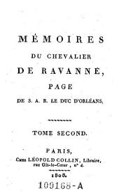 Memoires: Tome second