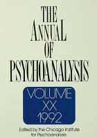 The Annual of Psychoanalysis PDF