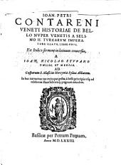 Historia de bello nuper Venetis à Selimo II. Turcarum Imperatore illato: liber unus