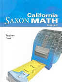 Saxon Math Intermediate 5 California PDF