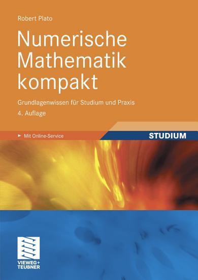 Numerische Mathematik kompakt PDF