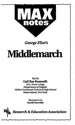 Middlemarch  MAXNotes Literature Guides