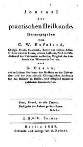 Hufeland's journal der practischen Heilkunde: Band 66