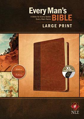Every Man s Bible NLT  Large Print  Tutone
