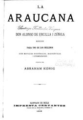 La Araucana de Don Alonso