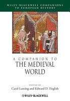 A Companion to the Medieval World PDF