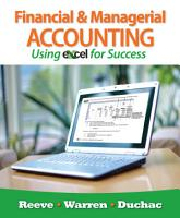 Financial and Managerial Accounting Using Excel for Success PDF