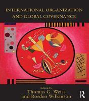 International Organization and Global Governance PDF