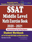 SSAT Middle Level Math Exercise Book 2020-2021