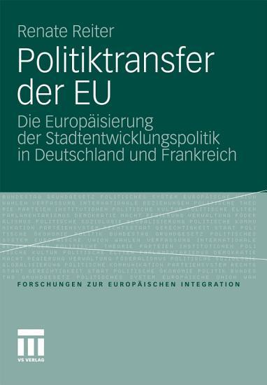 Politiktransfer der EU PDF