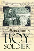 Letters from a Boy Soldier PDF