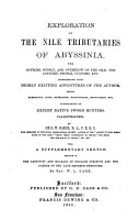 Exploration of the Nile Tributaries of Abyssinia PDF