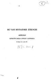 De' vasi divinatorii etruschi