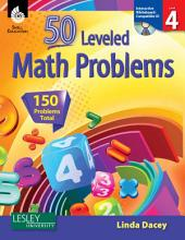 50 Leveled Math Problems Level 4