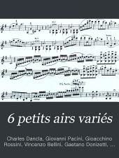 6 petits airs variés