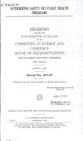 Authorizing Safety Net Public Health Programs PDF