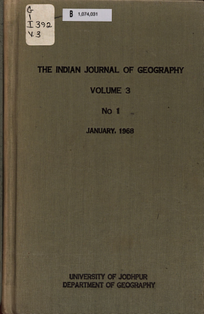 The Indian Journal of Geography PDF
