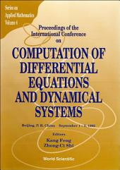 Computation Of Differential Equations And Dynamical Systems