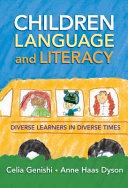 Children  Language  and Literacy PDF