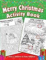 Merry Christmas Activity Book PDF