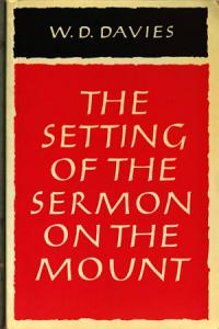 The Setting of the Sermon on the Mount