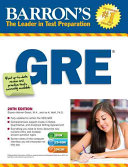 Barron s GRE with CD ROM PDF