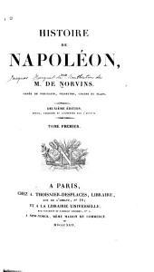 Histoire de Napoléon: Volume1
